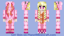 Bunny Onesie Girl,  FuryBunny request Minecraft Skin