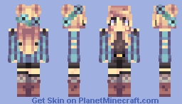 no care Minecraft Skin