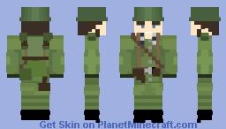 Polish WW2 Infantry Minecraft