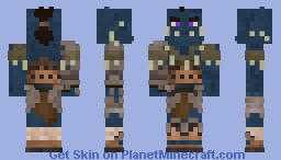Puknaak'Lak, Wargoth Minecraft Skin