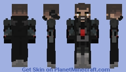 Retribution Reaper skin (Soldier 24) - Elec Minecraft Skin