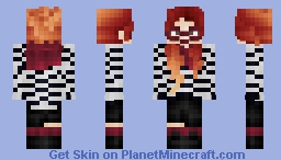 ~Red-Haired Hipster~ Minecraft Skin