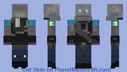 Mann vs Machine Heavy Minecraft Skin
