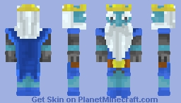 Royal Ghost - Clash Royale Minecraft Skin
