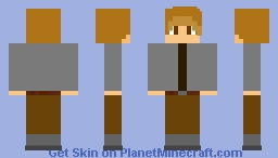 Roy Lee Cooke | October Sky Minecraft Skin