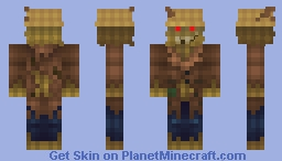Scarecrow Monster Skin Minecraft