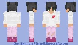 I prefer.. PINK!! Minecraft Skin
