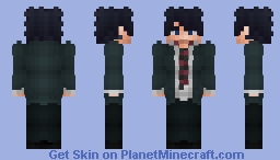 Rin Okumura - Blue Exorcist Minecraft Skin
