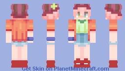 Tet (No Game No Life) Minecraft Skin