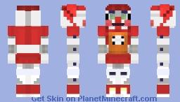 (FNAF Sister Location, Circus Baby) Minecraft Skin