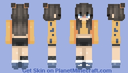O o f | ᔕ I Ꮎ ᑌ ᙭ Minecraft Skin