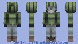 Into The Dark - RQ Minecraft Skin
