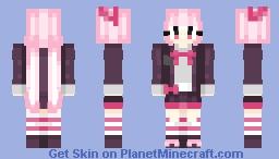 kotoko utsugi - danganronpa (request) Minecraft Skin