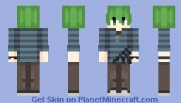 rantaro amami - your favourite avacado - Danganronpa- (request) Minecraft Skin
