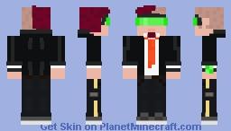 Dark Neon (personal skin) Minecraft Skin