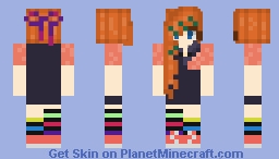 wat i looked like today but read the desc. Minecraft Skin