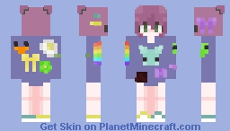 a lil' extra Minecraft Skin