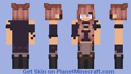 Would you rather me pinch you, or kiss you? || [ CE  ] Minecraft Skin