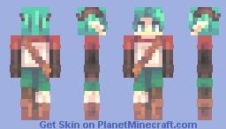 Lyre - Persona Minecraft Skin