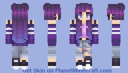 Purple Galaxy Minecraft