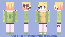 papaya Minecraft Skin
