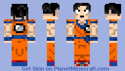 Dragon Ball - Son goku v2 Minecraft