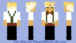 Sparkling Cookie Minecraft Skin