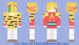 [Hatoful Boyfriend] Tohri Nishikikouji Minecraft Skin
