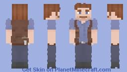 Owen Grady - Jurassic World 1-2 Minecraft Skin