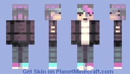 Neon Punk (Finalist) Minecraft Skin