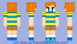 Claus - MOTHER 3 Minecraft Skin