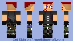 Jack krauser (Form RE4) Minecraft Skin