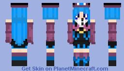 S k i n  Req by magichero12 (sorry got busy ; - ; ) Minecraft Skin