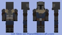 Koshkarus the Mandalorian Minecraft Skin