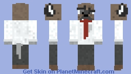 Haida (Aggretsuko) Minecraft Skin