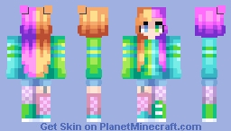Bring Color To My Skies ~ Catligraphy // CE Minecraft Skin