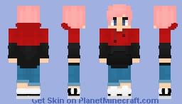 Pink-haired boy   Coldtrash Minecraft Skin