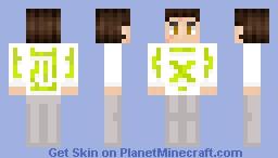 Lime Hoodie Minecraft Skin