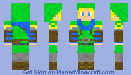 Link (Hyrule Warriors) Minecraft Skin