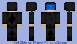 Motor Cycle Driver Minecraft Skin
