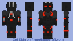 Omega Fortnite skin Minecraft Skin