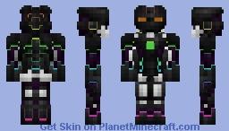Rainbow Robot v2 Minecraft