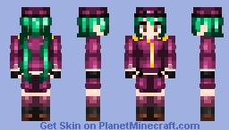 Hatsune Miku - Senbonzakura Minecraft Skin
