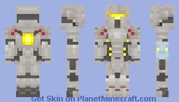 Overwatch Reinhardt Minecraft Skin