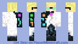 Ryō - Cyberpunk Minecraft Skin