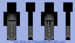Pretty In Black Minecraft Skin