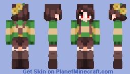 ~«Fridæ - Nostalgia - Chara - Poppyreelll!~ Minecraft