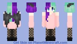 Hold On To Me Minecraft Skin