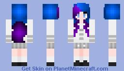 𝓝𝓲𝓬𝓱𝓸𝓵𝓮~ School Girl Gabby Minecraft Skin