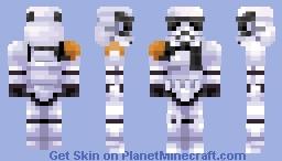 Star Wars | Stormtrooper Commander Minecraft